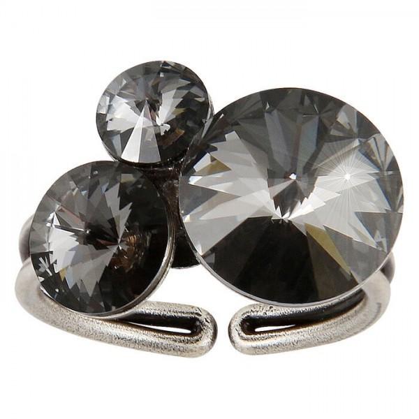 Konplott Rivoli Ring grau Vollansicht