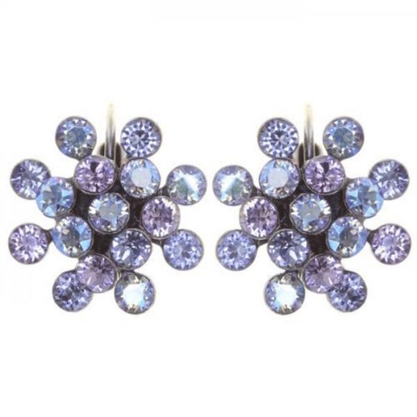 Konplott Magic Fireball mini Ohrringe blau