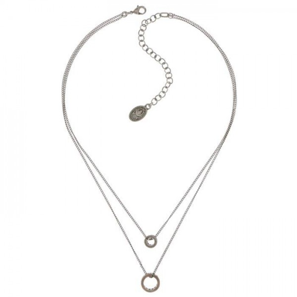 Konplott Classic Shine Halskette in blau
