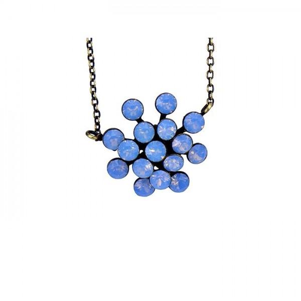 Konplott Magic Fireball Halskette in hellblau