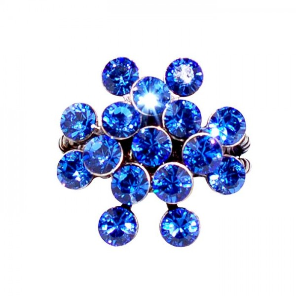 Konplott Magic Fireball Ring in blau