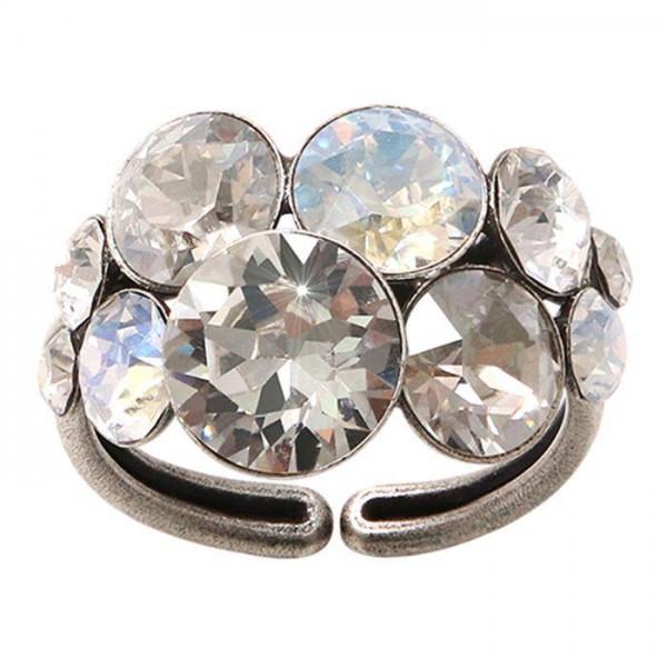 Konplott Petit Glamour Ring weiß