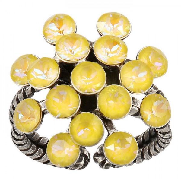 Konplott Magic Fireball Ring gelb pastel