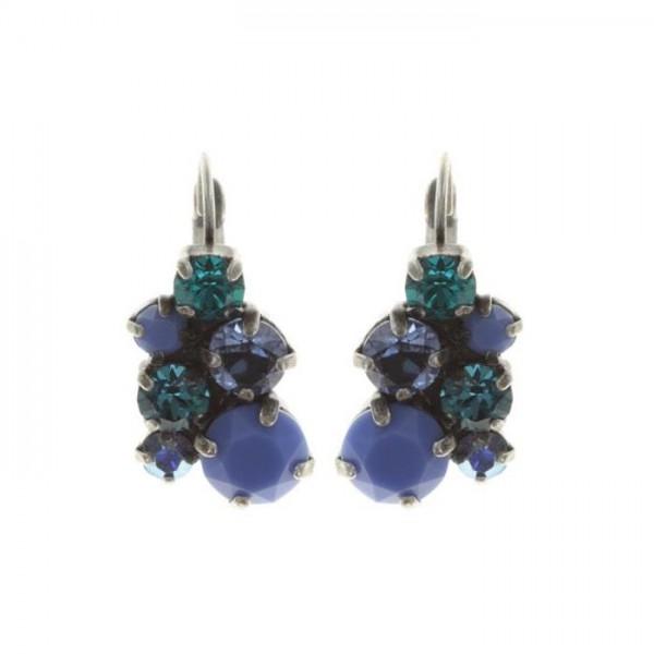 Ballroom Ohrringe von Konplott in blau