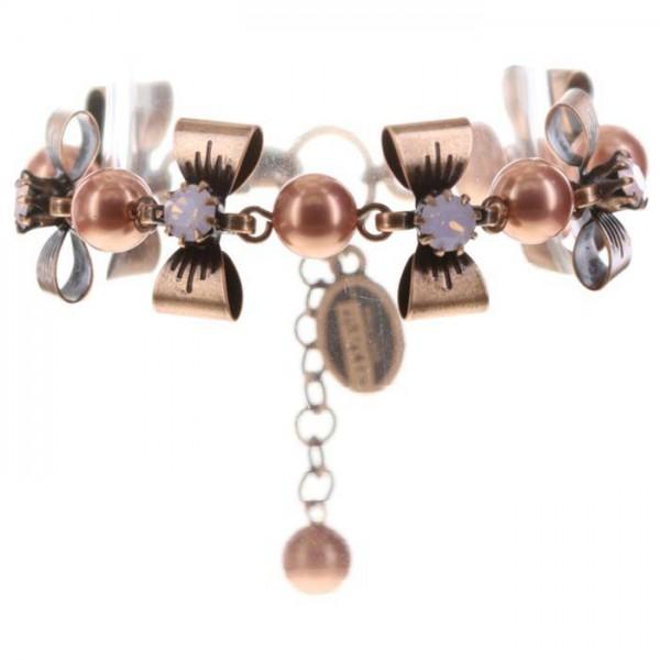 Konplott Pearl ´n´Ribbons Armband in pink