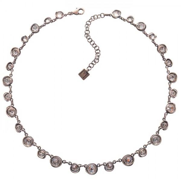 Konplott Halskette Sparkle Twist in weiss