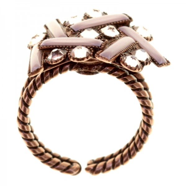Konplott Graphic Flow Ring pink