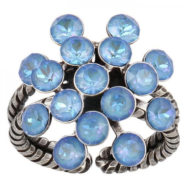 Konplott Magic Fireball Ring blau pastel