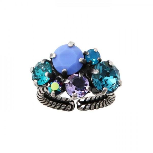 Ballroom Ring von Konplott in blau