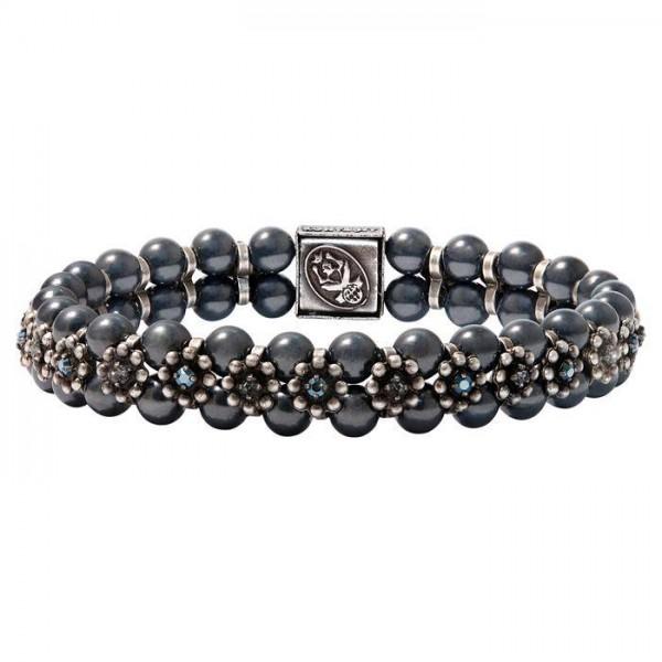Konplott Pearl ´n´Ribbons elegantes schwarzes Armband