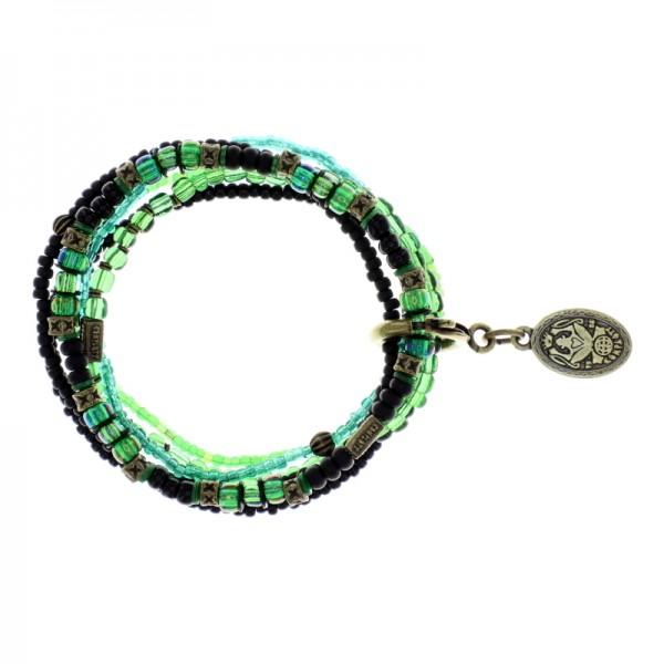 Konplott Petit Glamour d´Afrique Armband grün
