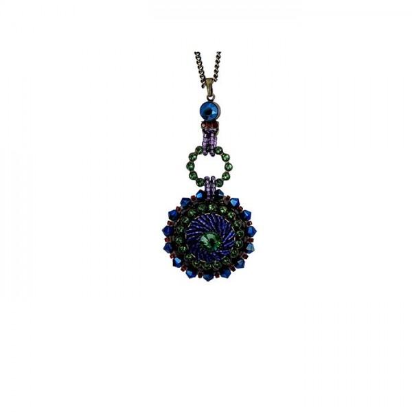 Konplott Halskette African Glam in multi/grün