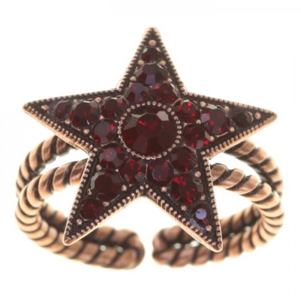 Konplott Dancing Star Ring rot