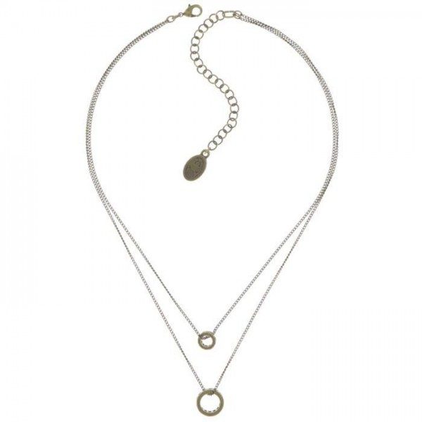 Konplott Classic Shine Halskette in beige