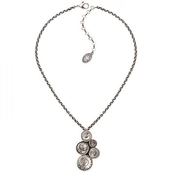 Konplott Classic Twist Halskette in weiß