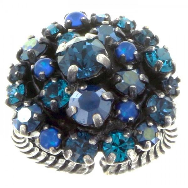 Konplott Ballroom Ring in dunkel blau