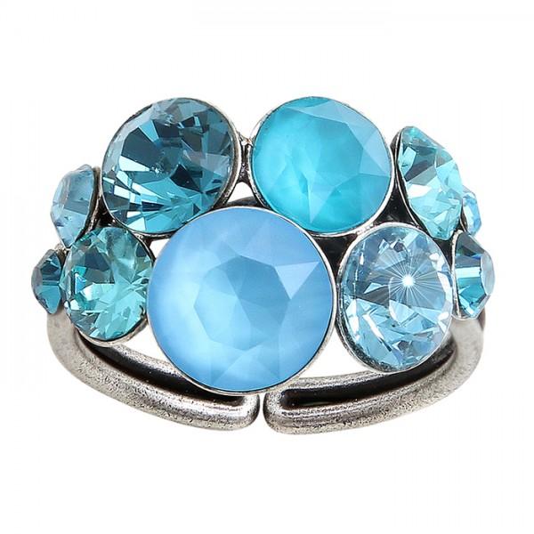 Konplott Petit Glamour Ring blau