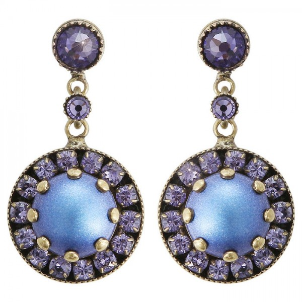 Konplott Simply Beautiful Ohrhaenger blau lila