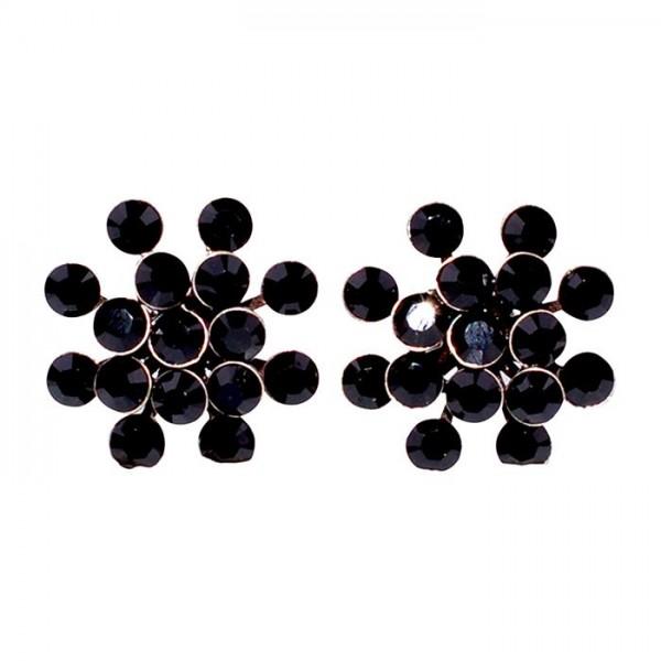schwarze Ohrstecker Magic Fireball von Konplott