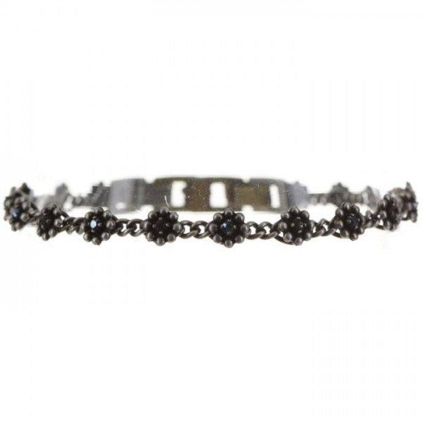 Konplott Pearl ´n´Ribbons Armband in schwarz vollbild