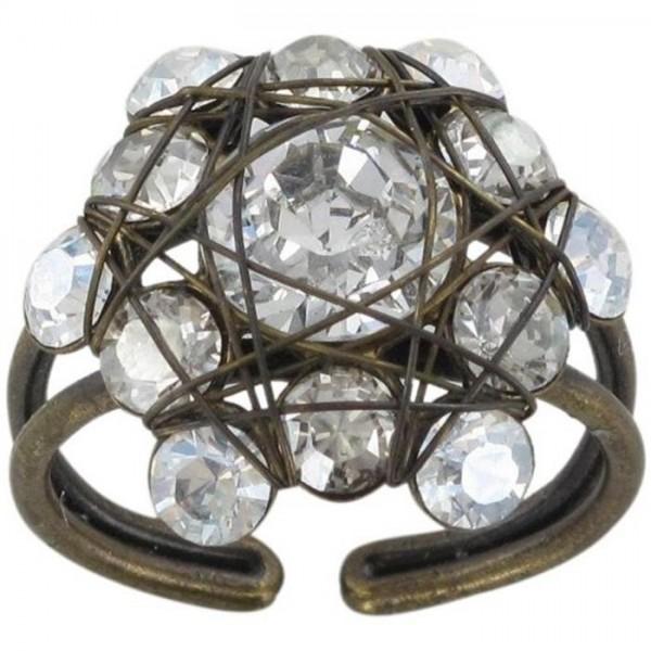 Konplott Bended Lights Ring in weiß