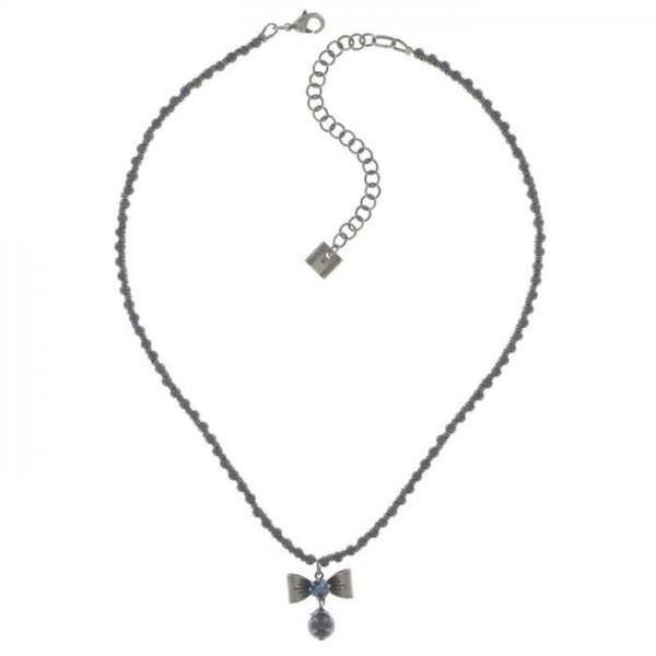 Konplott Pearl ´n´Ribbons schwarze Halsette