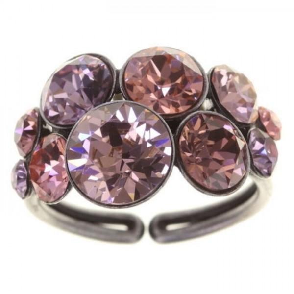 Konplott Petit Glamour Ring rose Vollsicht