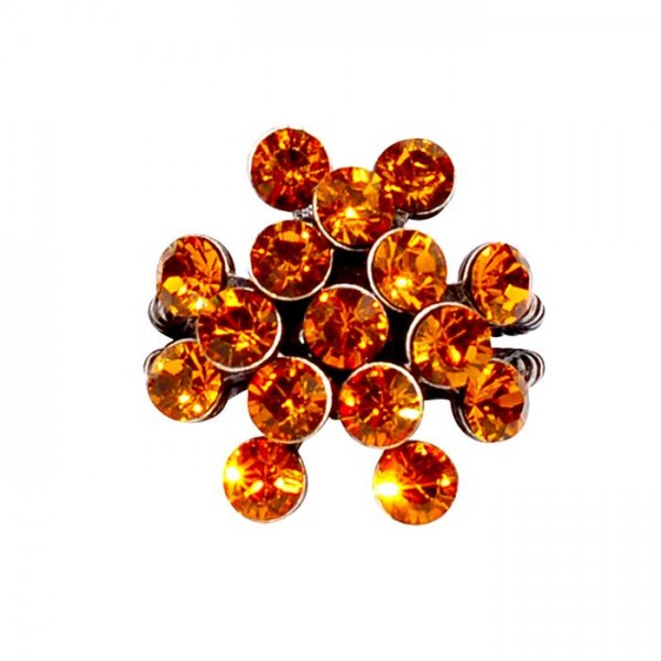 Konplott Magic Fireball Ring in orange