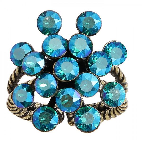 Konplot Magig Fireball Ring blau grün