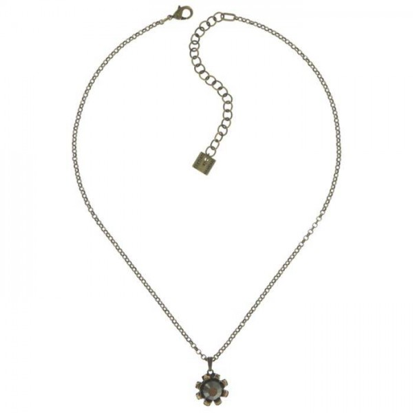 Konplott Tropical Halskette in einem dezenten schwarz braun