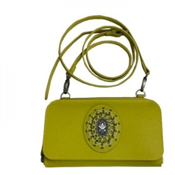 Konplott Tasche in gelb grün