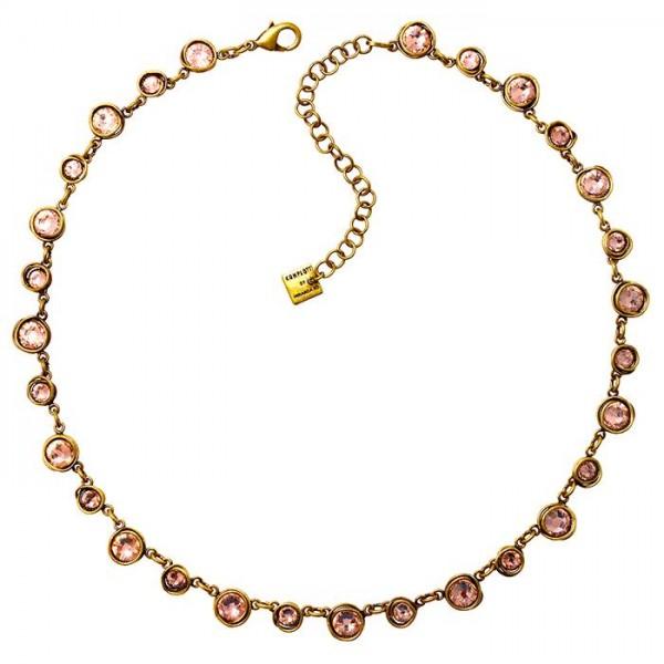 Konplott Sparkle Twist Halskette in beige pink