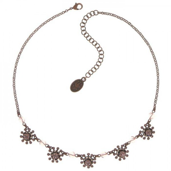 Schicke pinke Halskette von Konplott aus der Kollektion Pool Side Flower