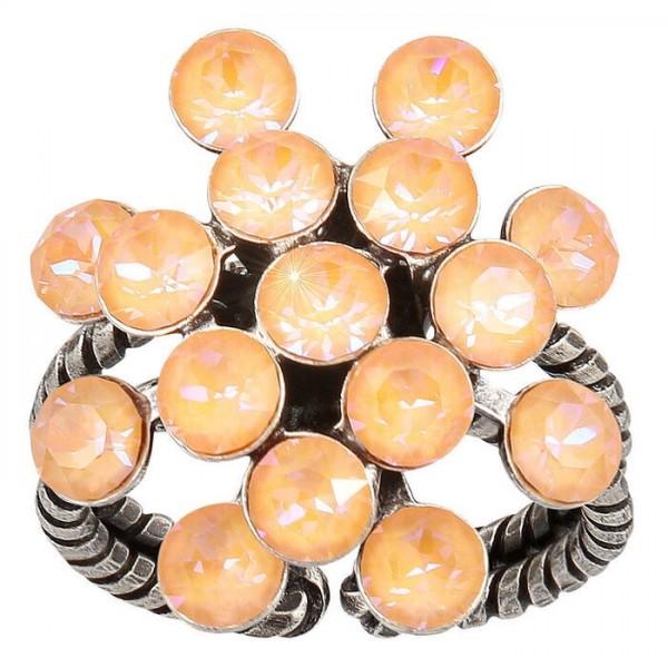 Konplott Magic Fireball Ring orange pastel
