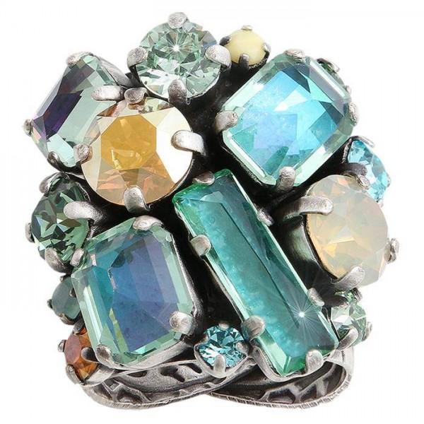 Konplott To Katharine with Love II gruner prachtvoller Ring