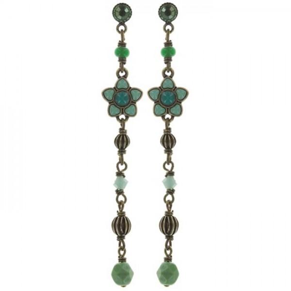 Konplott Rosary lange Ohrhänger grün