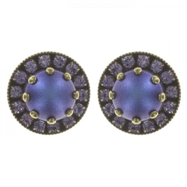 Konplott Simply Beautiful Ohrstecker blau lila