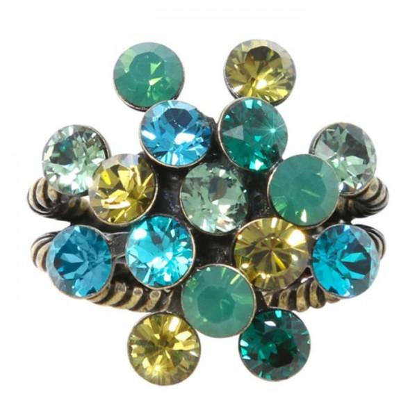 Konplott Magic Fireball Ring in multi grün