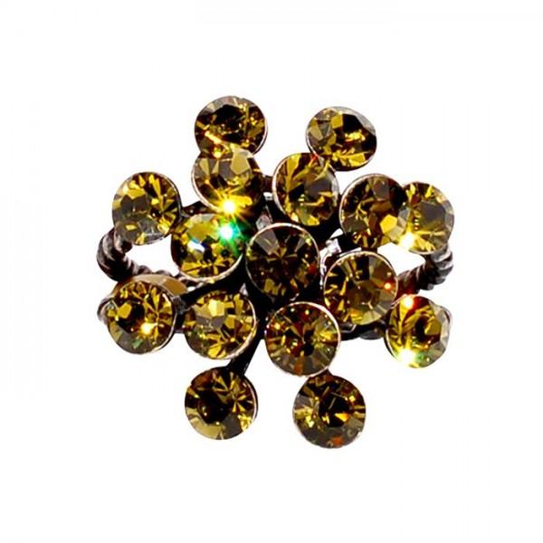 Konplott Magic Fireball Ring in oliv