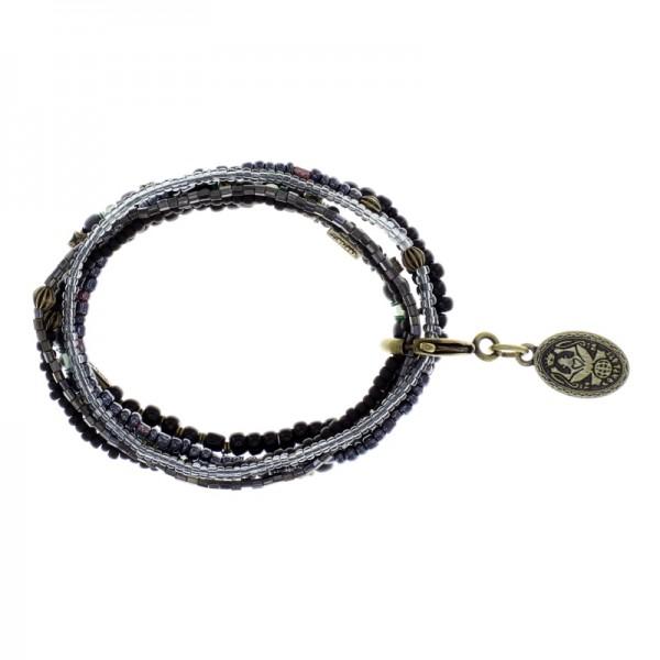 Konplott Petit Glamour d´Afrique Armband schwarz