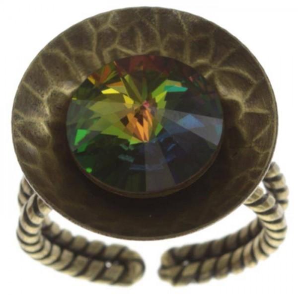Konplott Rivoli Concave Ring grün