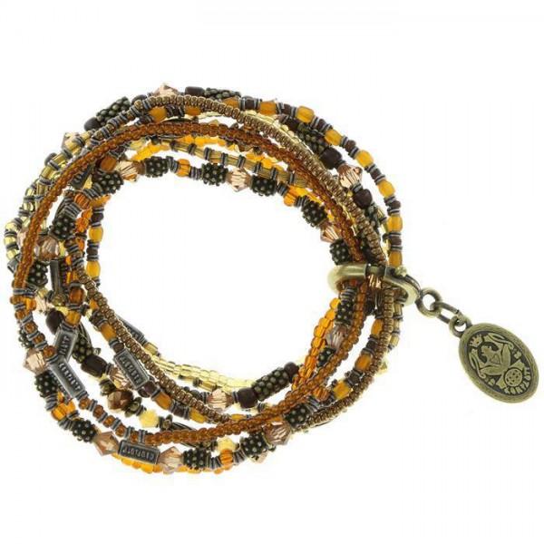 Konplott Armband Petit Glamour d' Afrique in braun